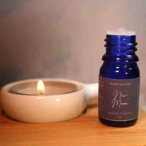 New Moon Manifesting Aromatherapy blend from The Sensory Coach