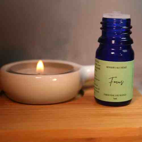 Focus aromatherapy blend from The Sensory Coach - for when your concentration needs a little boost