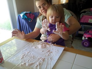Shaving Cream Adventures