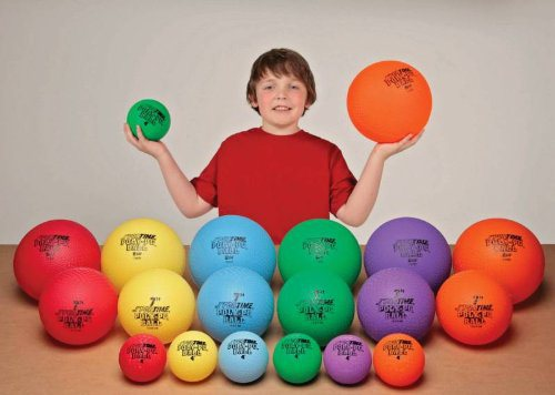 Sportime Poly-PG Rubber Playground GradeBall Set