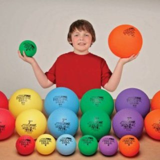 Sportime Poly-PG Rubber Playground GradeBall Set