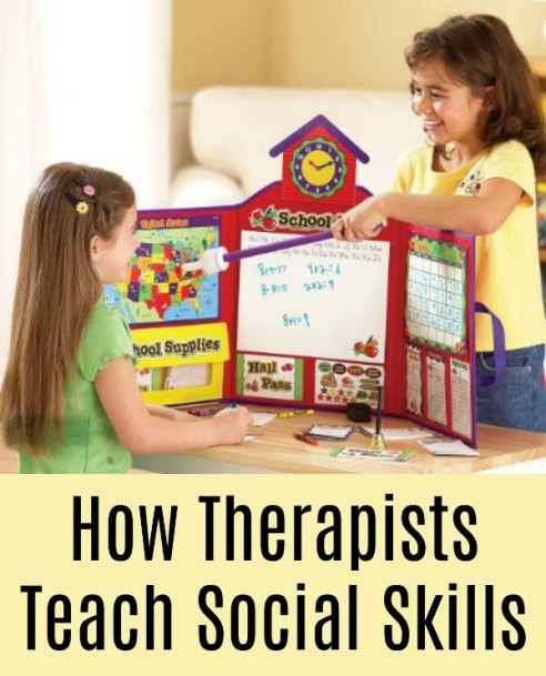 How Therapists Teach Social Skills