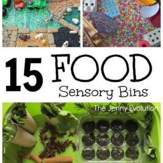 15 Food Based Sensory Bins