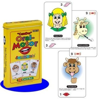 """Can Do"" Oral Motor Fun Deck Cards (Oral Sensory Tools)"