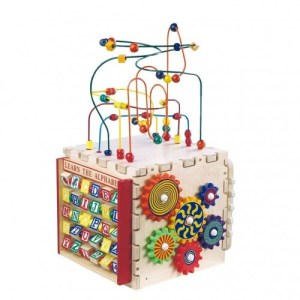 Anatex Deluxe Mini Play Cube (Fine Motor Toys)
