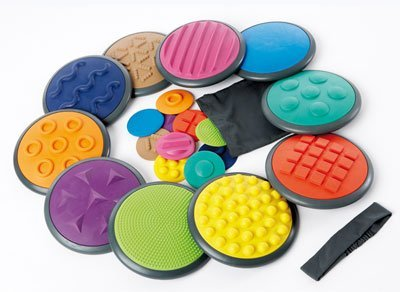Occupational Therapy Tactile Discs for Autism and Sensory Integration (tactile tools)