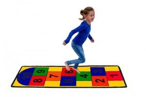 Hopscotch Carpet (Proprioception)