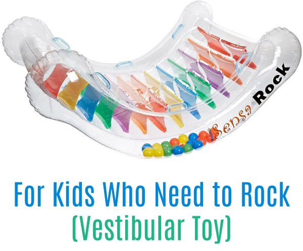 Abilitations Integrations SensaRock (Vestibular Toys) - for kids who need to rock