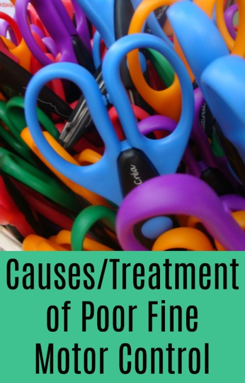 Causes and Treatment of Poor Fine Motor Control