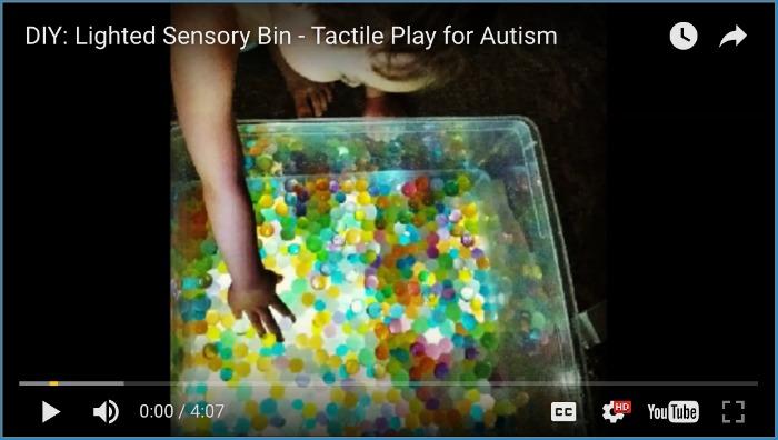 Diy Lighted Sensory Bin The Sensory Spectrum