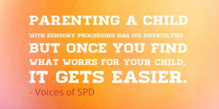 Try a Sensory Diet To Cope with SPD