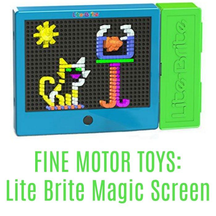 Lite Brite Magic Screen (Fine Motor Toys)