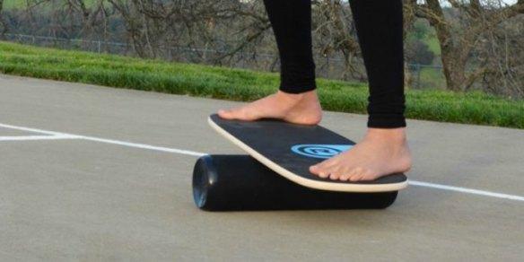 girl on balance board benefits