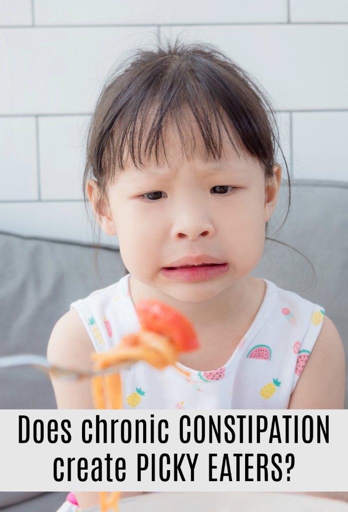 Preschoolers with Chronic Constipation Tend to Be Picky Eaters   The Sensory Spectrum