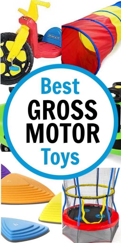 Best Gross Motor Toys for Kids