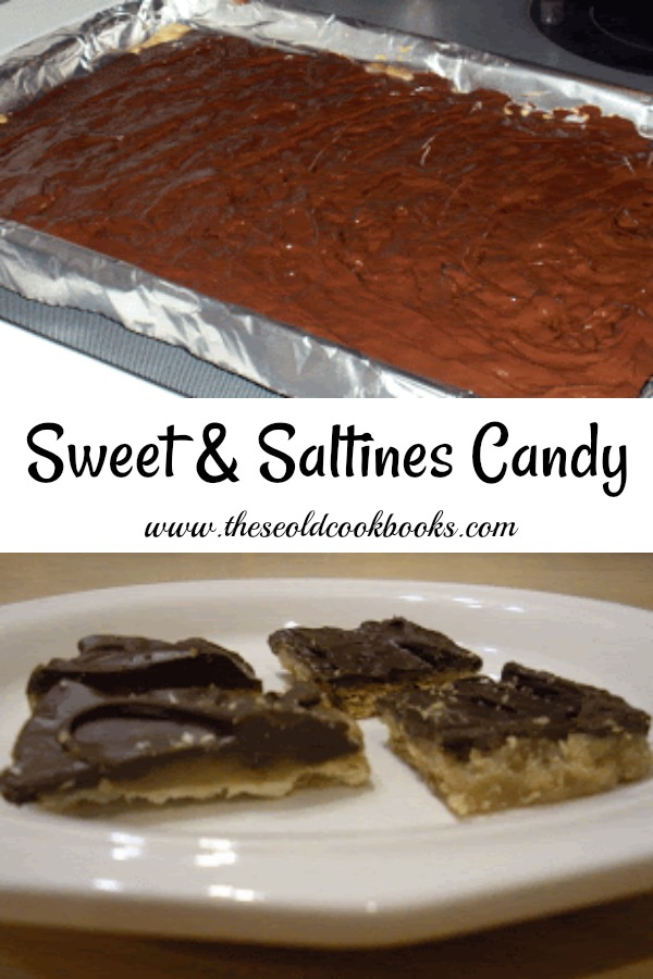 Sweet and Saltines Candy