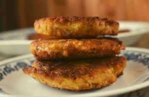 These Classic Salmon Patties are kid-approved and an easy weeknight entrée for busy families who need to get dinner on the table quickly.