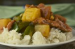 Island Pork has a flavor-packed sauce, tender pork, pineapple and peppers. This Sweet and Sour Pork Pork Stir-Fry Recipe is sure to be a family favorite when served over a bed of rice.