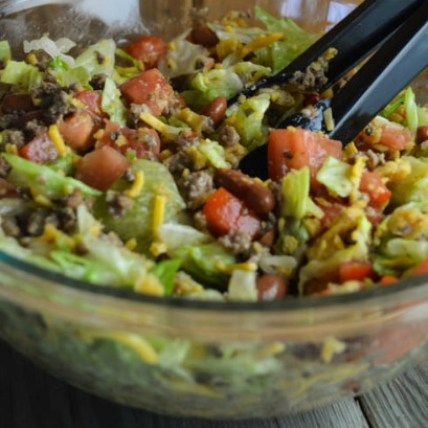 Sometimes you just need a recipe, like this Easy Taco Salad, that is quick to prepare and uses ingredients that are usually in your refrigerator and pantry.