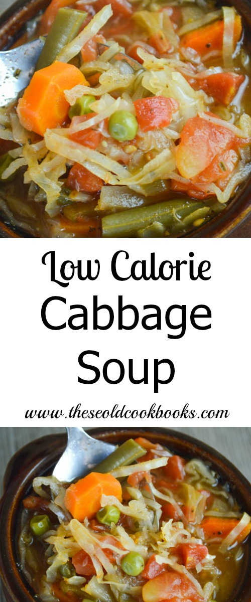 This healthy Low Calorie Cabbage Soup is perfect after a weekend of indulgence because while it is full of vegetables it is also full of flavor.