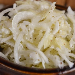 This Sweet and Sour Coleslaw is a vinegar-based slaw that is easy to make but patience is required for all the sweet and tangy flavors to emerge.