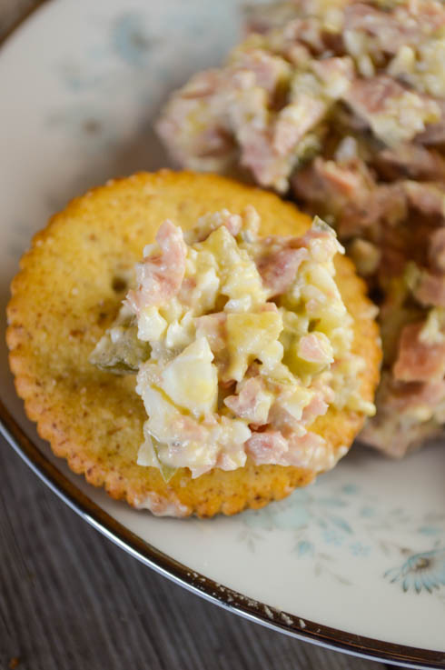 Bologna Salad Recipe Perfect on Crackers, Toast or as a ...
