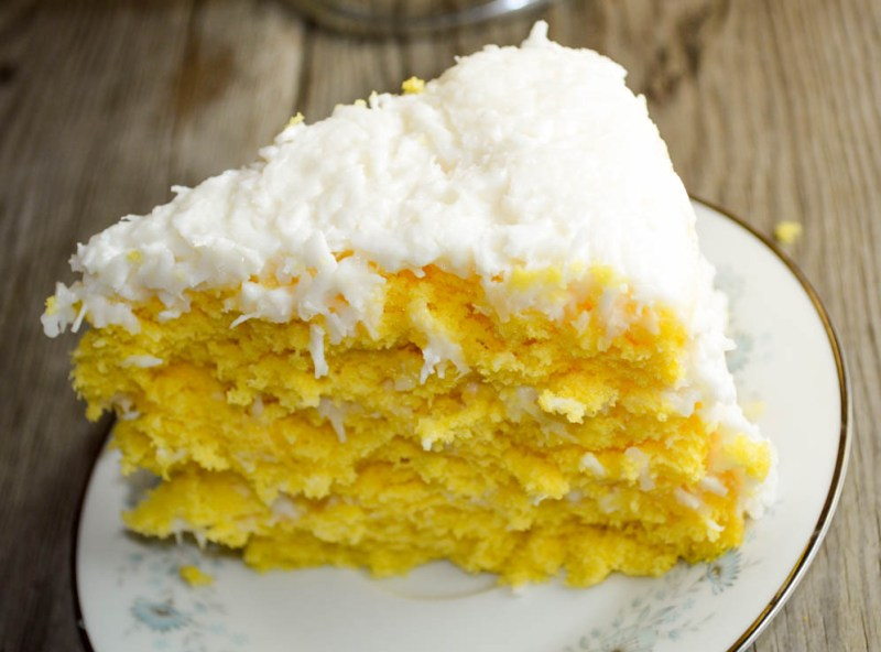 This Three Day Coconut Cake uses a boxed cake mix and just three other ingredients to make a delicious dessert for the coconut lovers in your life.