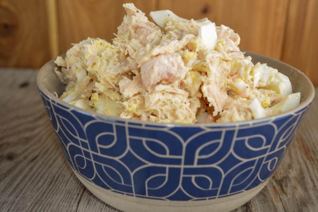 3 Ingredient Chicken Salad Recipe With Canned Chunk