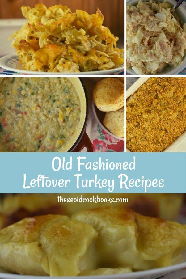 When you have leftover turkey or chicken in the fridge, try these 5 Leftover Turkey Recipes to keep your family happy while not wasting perfectly good food.