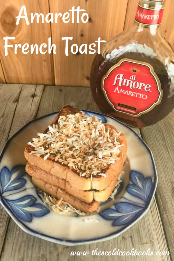 This was another creation with my leftover Amaretto from our Amaretto Pina Coladas. I think I may be obsessed with Amaretto right now. YUM! This would be a great option for breakfast in bed for Valentines Day. I use my electric skillet for this recipe, French toast, pancakes. Link up on Amazon. It's one of my most used appliances in my kitchen. It means less time for mama standing over the stove.