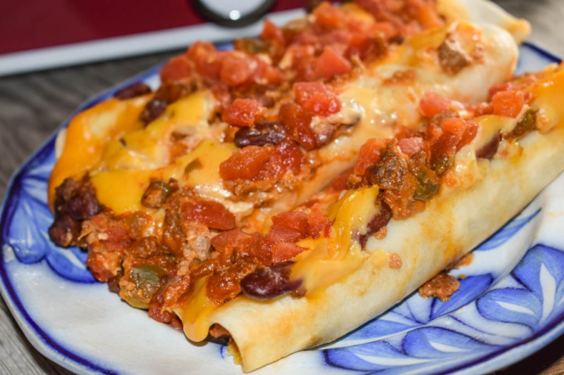 These Crock Pot Ground Beef Acapulco Enchiladas are quick to put together in a casserole crock pot and satisfy the family's need for Mexican food.