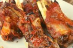 Instant Pot Pork Ribs recipe features Mom's tangy BBQ pork ribs in a quick recipe for the pressure cooker.