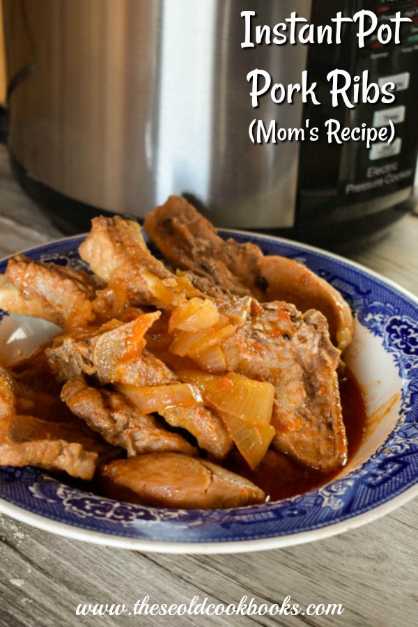 Instant Pot Pork Ribs are tender and full of flavor and are ready in no time. When your family has a hankering for ribs but you don't have hours to get dinner on the table, this is the recipe for you.