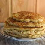 With just a little work the night before, these Prep Ahead Old-Fashioned Oatmeal Pancakes are easy to make for the perfect breakfast. Top them with butter and syrup or mix it up with peanut butter or your favorite fruit.