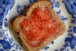 Grandma's Strawberry Freezer Jam recipe is simple to make and is ready for the freezer in no time.