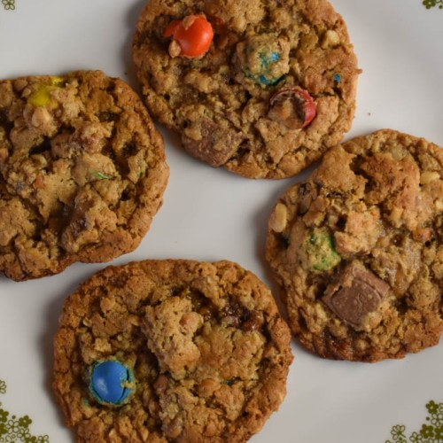 halloween candy monster cookies recipe these old cookbooks