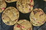 Monster Cookies Without Flour - A Leftover Candy Cookie Recipe are packed full of any kind of leftover candy available. With all of the goodness of traditional monster cookies, these use whatever candy you have sitting around your house after the holidays.