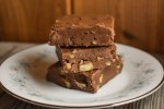 Grandma's Chocolate Fantasy Fudge is a rich, decadent treat that is quick and easy to make. A small piece is all you need to satisfy your sweet tooth.