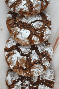 Need an easy cookie that everyone will love? These Chocolate Crinkle Cookies are rich and perfect with a tall glass of milk or hot cup of coffee.