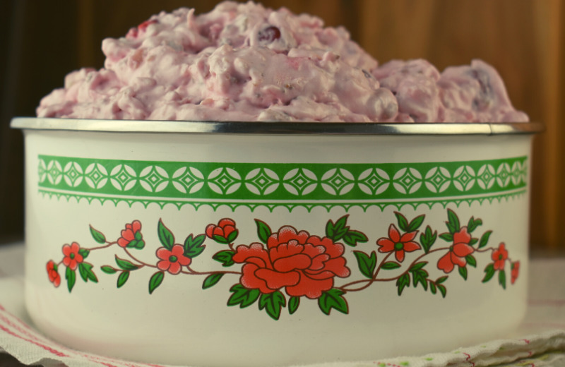 Grandma's Cherry Fluff recipe has just five ingredients and is a dump and go dish perfect for pitch-ins.
