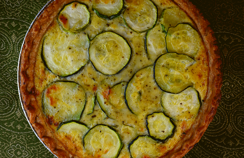 Zucchini Quiche is a great dish year round, but especially when the zucchini is plentiful from the garden or farmers' market. This recipe can be a great breakfast or brunch option.