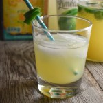 Vodka is the perfect complement to the combination in this Jalapeno Pineapple Limeade cocktail recipe.