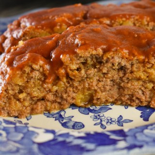 This Crock Pot Enchilada Meatloaf is just the right combination of Mexican flavors and a classic American dish.