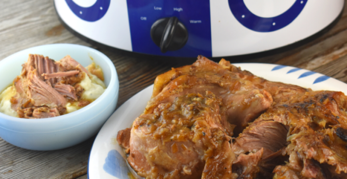Crock Pot Pork Roast with Gravy