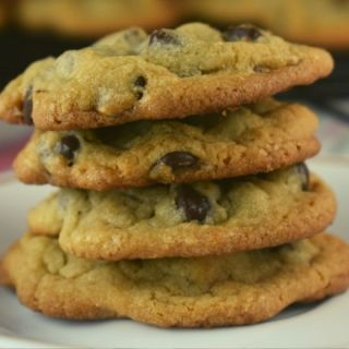 Mom's Chocolate Chip Cookies are perfect. This chocolate chip recipe (without butter) has stood the test of time. The special ingredient is butter-flavored Crisco which results in a crisp outer edge and soft, tender center. This is the only cookie recipe you'll ever need.