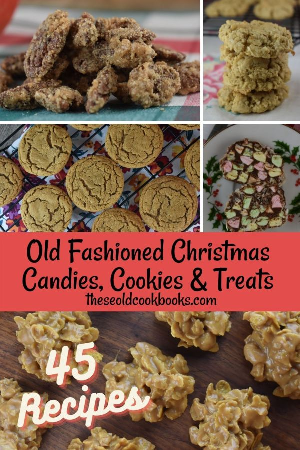 I've collected our most popular Old Fashioned Christmas Dessert Recipes to share with your and your family this holiday season. From Christmas candies and cookies to vintage Jello salads, this collection has something for everyone.
