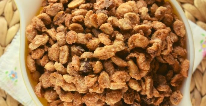 Candied Peanuts – An Old Fashioned Sugared Nut Recipe