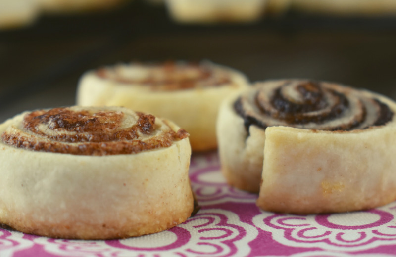 Pie Crust Pinwheels are an easy, shortcut recipe using leftover pie crust. With three different filling options, these pie crust cookies come together in a pinch.