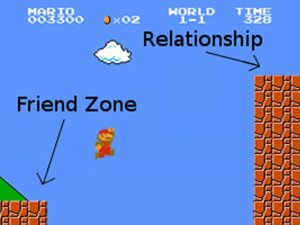Friend Zone Mario
