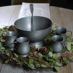 Outdoor Table And Chairs Wood Waiting Area Sale! Pewter Punch Bowl Set - Alex Pifer's The Seraph